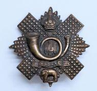 Assaye Cap Badge