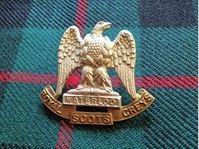 Badge, Waterloo Royal Scots Greys