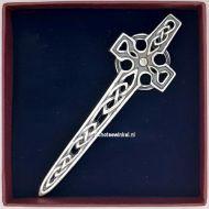 Kiltpin Celtic Cross - A - Silver