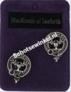 MacKenzie of Seaforth, manchetknopen
