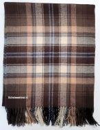 Blanket,  100% lamswol, McVitie Check, 170 x 140