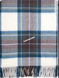 Plaid, Stewart Blue Dress Tartan Lambswool