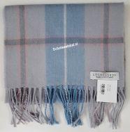 Shawl - Blue Check