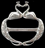 Scarf Ring, (M) Nouveau Celtic, 6 cm