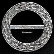 Scarf Ring, (M) Celtic Knot, 6 cm