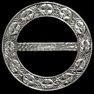 Scarf Ring, (M) Celtic Kiss, 6 cm