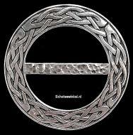 Scarf Ring, (M) Celtic Knot, 8 cm